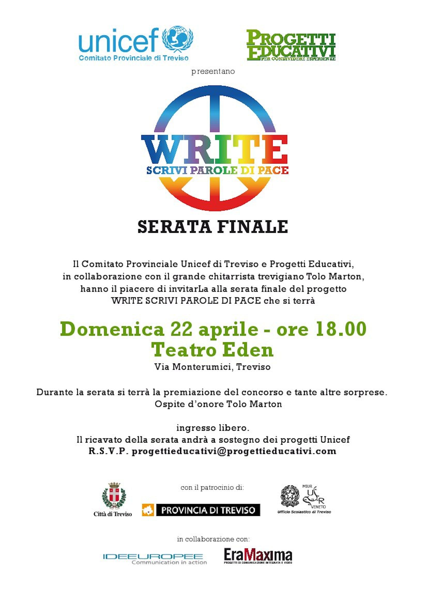 A Treviso la premiazione del concorso