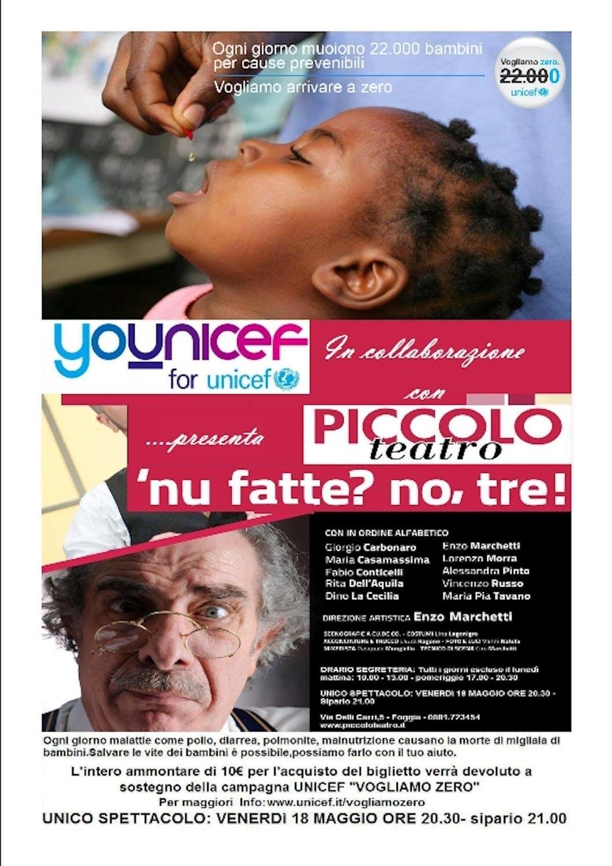 Il Piccolo Teatro di Foggia presenta: Nu Fatte? no, tre!