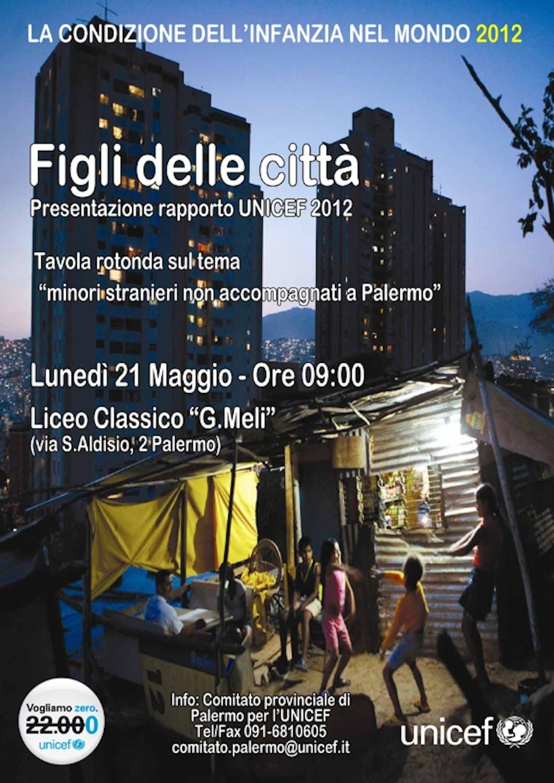 A Palermo la presentazione del Rapporto UNICEF 2012