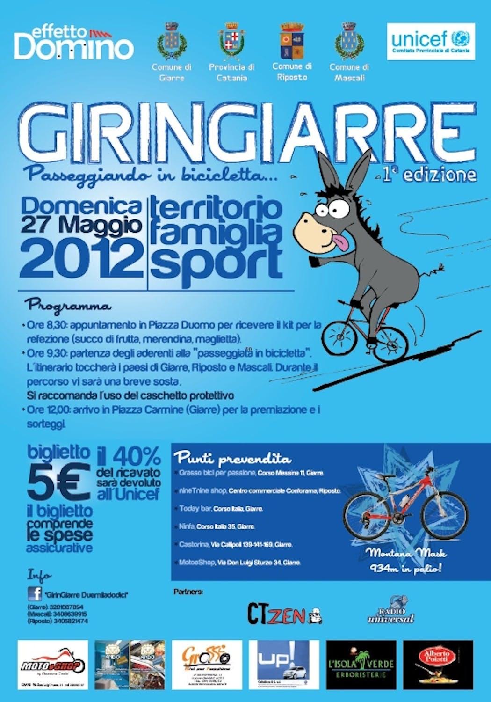 GirinGiarre, passeggiando in bicicletta tra le bellezze di Giarre, Riposto e Mascali