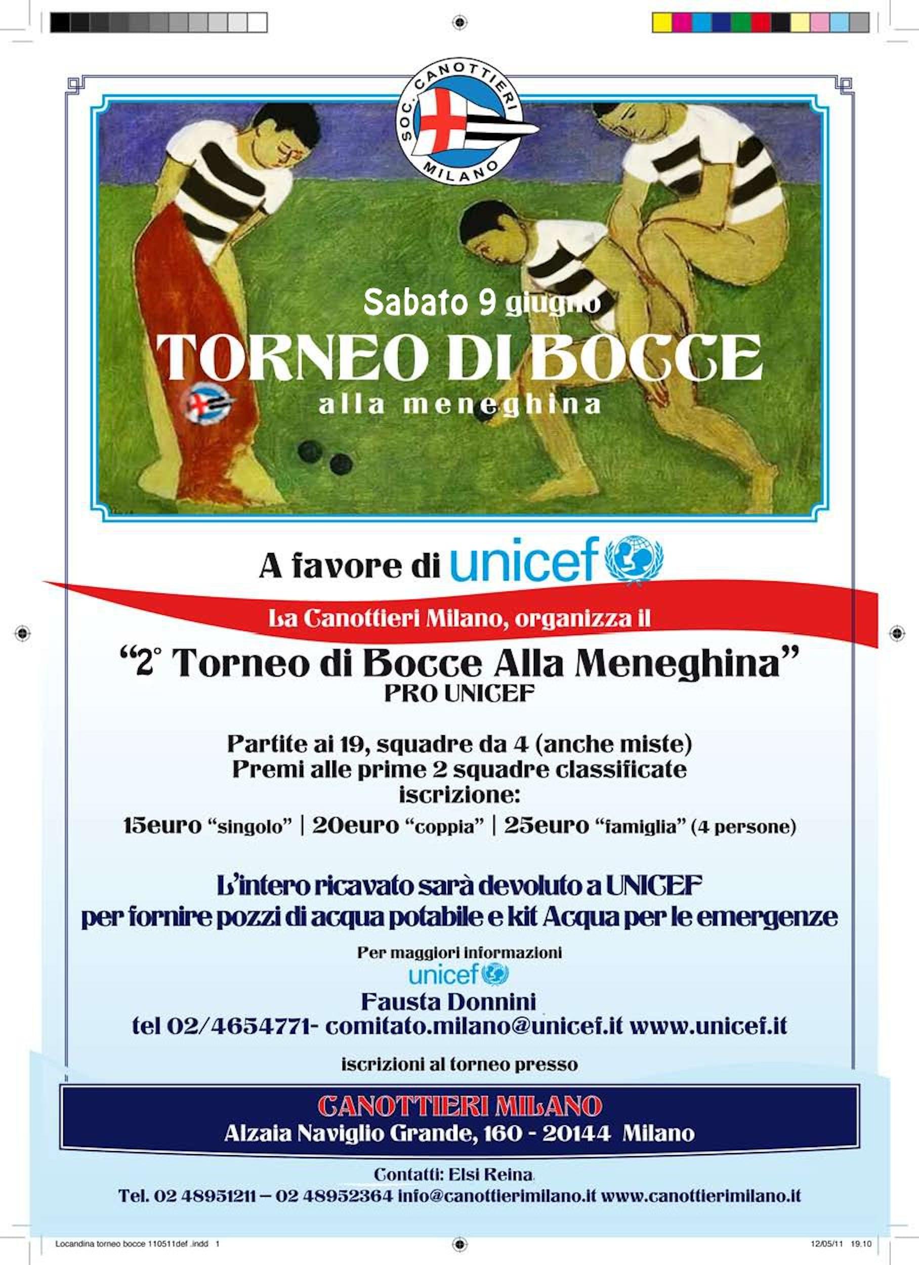 A Milano, il 2° torneo di bocce alla meneghina