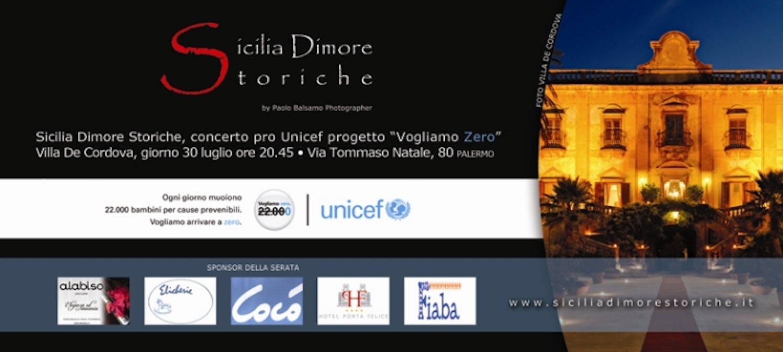 Un concerto a Palermo contro la mortalità infantile