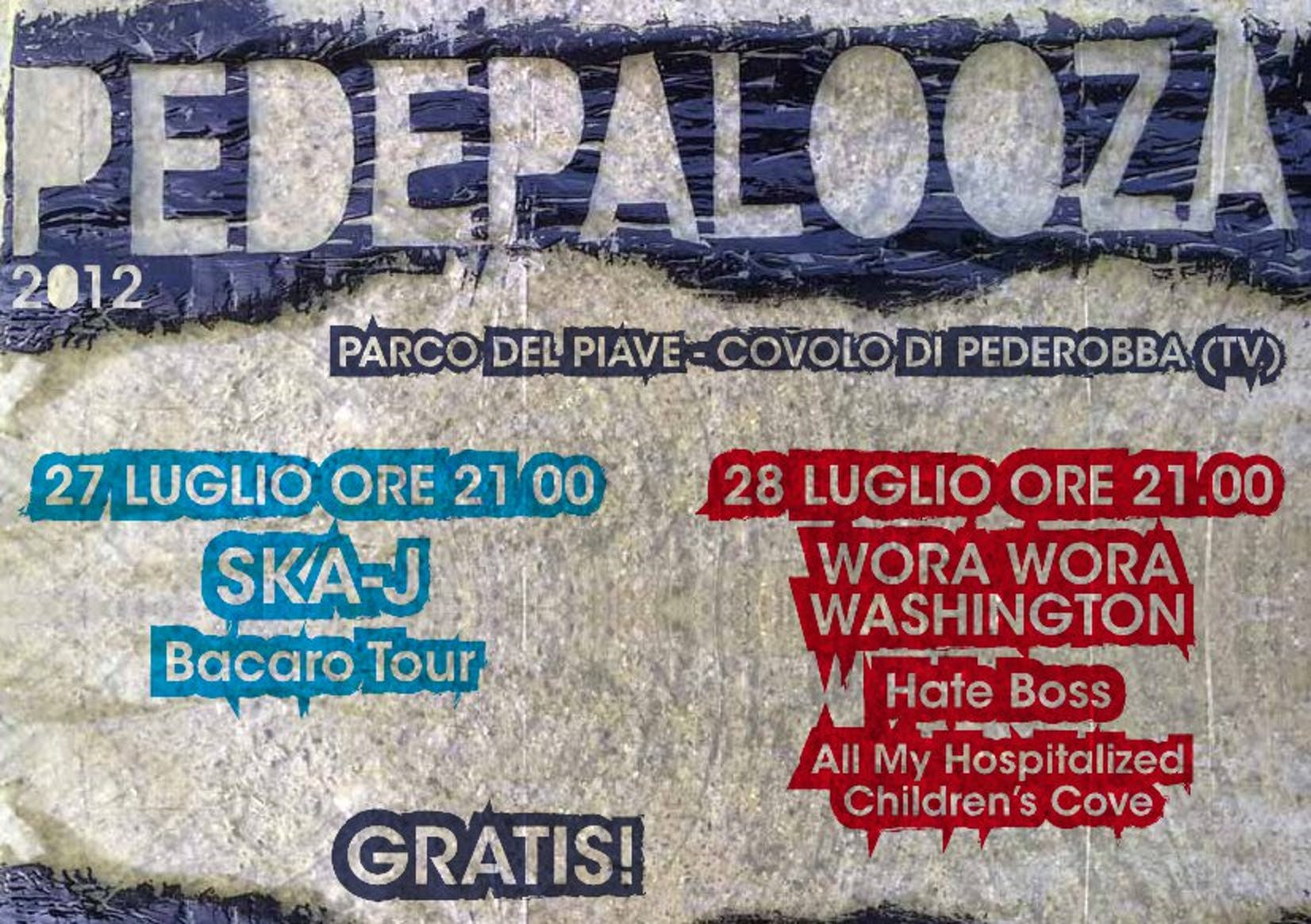 Due sere di musica gratis e solidale sulle rive del fiume Piave