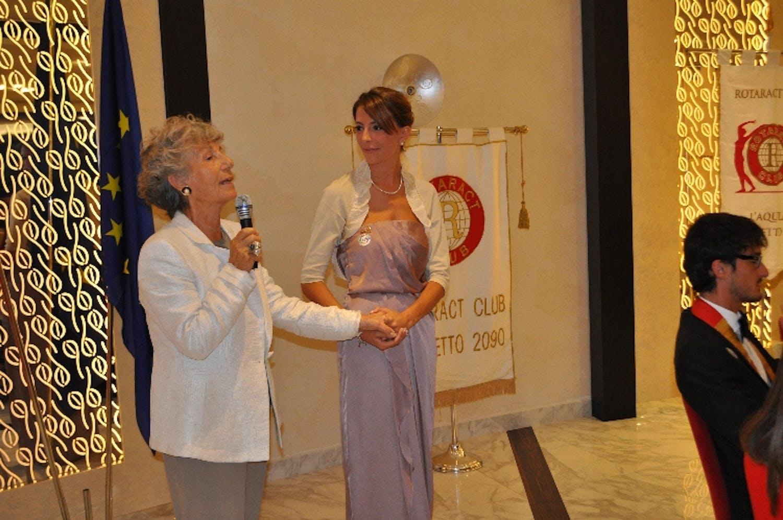 Rotaract e UNICEF al Vernissage Nazionale l'Aquila 2012