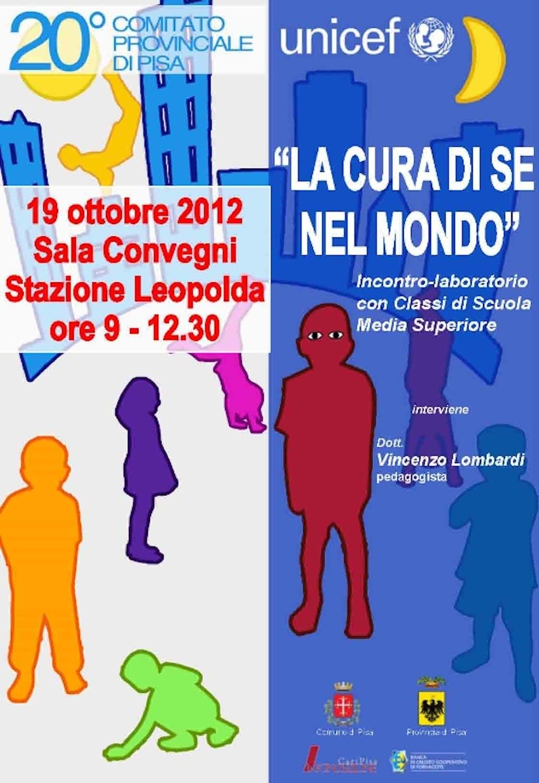 Un incontro a Pisa sulla cura di se nel mondo