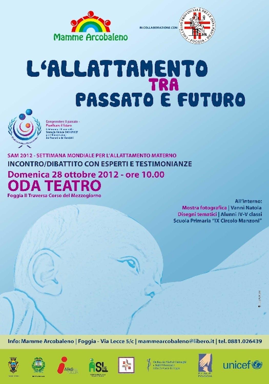 Un incontro a Foggia nella Giornata dell'allattamento