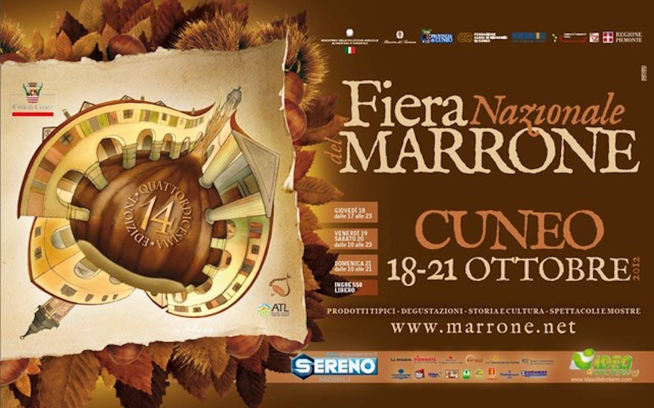 Una fiera del marrone solidale a Cuneo