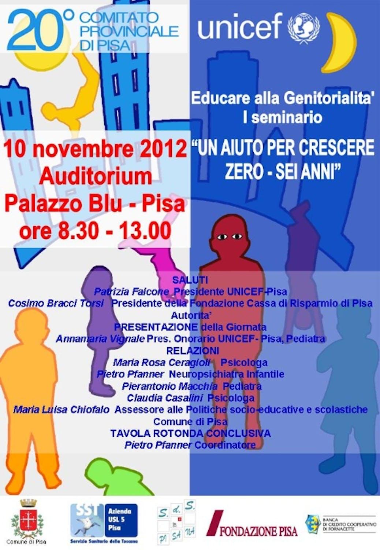 Un seminario sulla genitorialità a Pisa