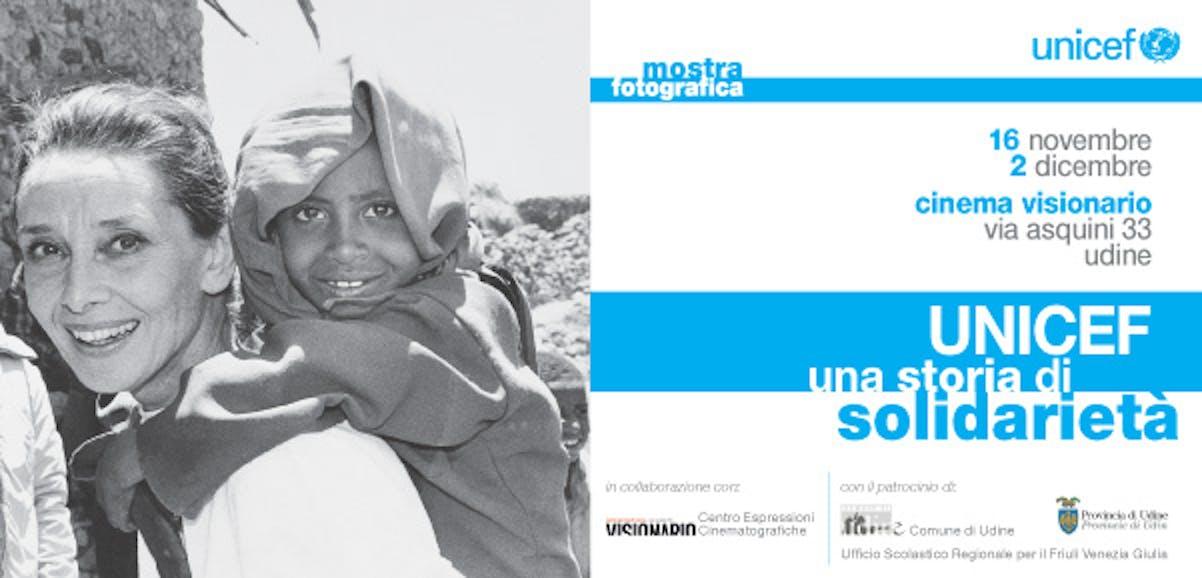 Mostra fotografica ''UNICEF - Una storia di solidarietà''