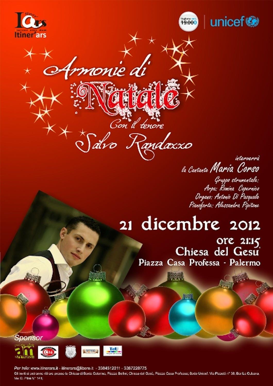 Armonie di Natale a Palermo, una serata in musica