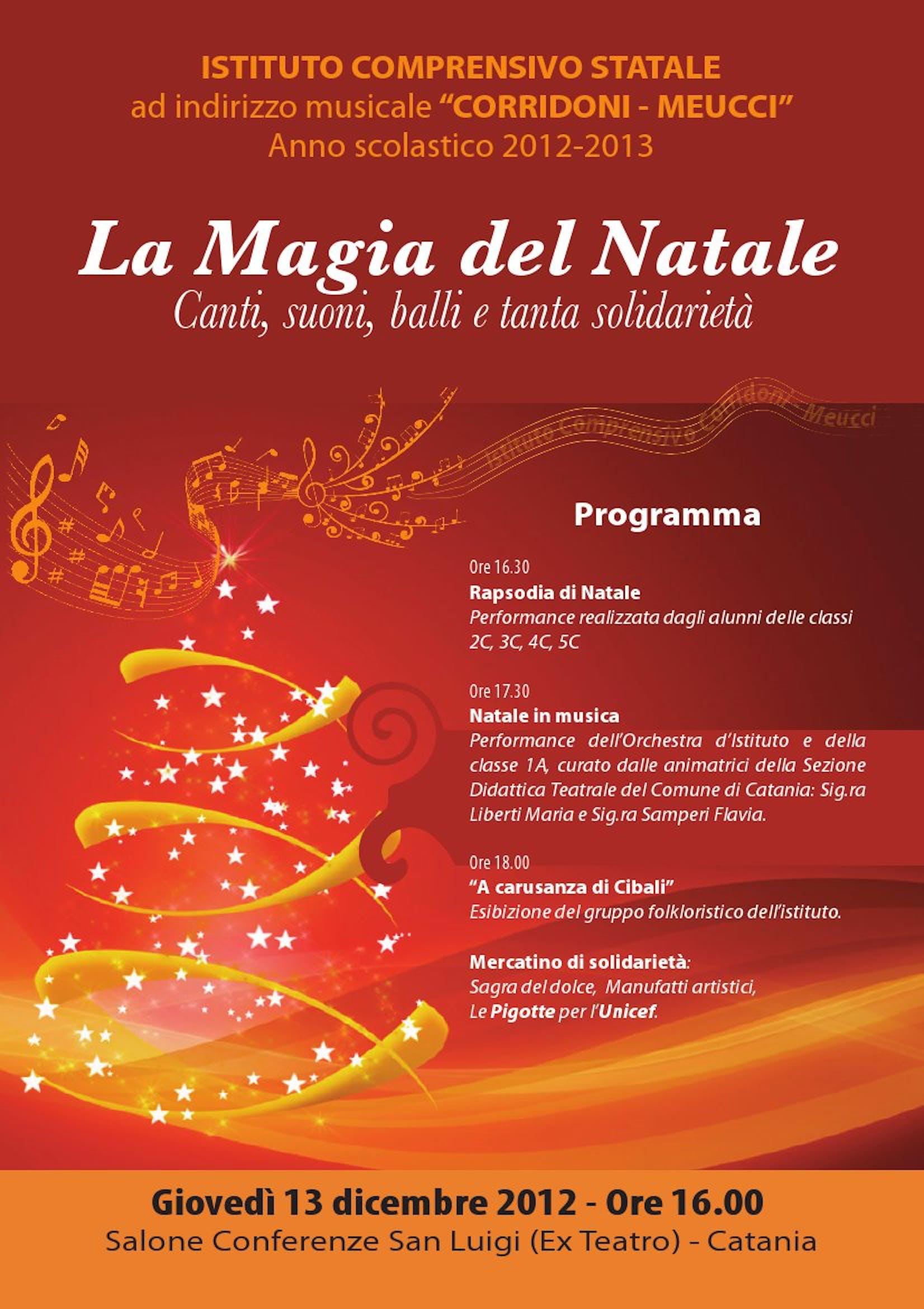 A Catania il Natale si accende di magia