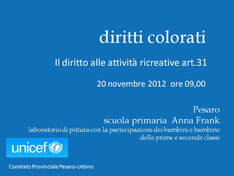 Diritti colorati a Pesaro