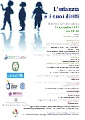 L'infanzia e i suoi diritti, un seminario a Fano