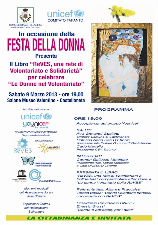A Castellaneta un convegno per celebrare la Giornata Internazionale della Donna