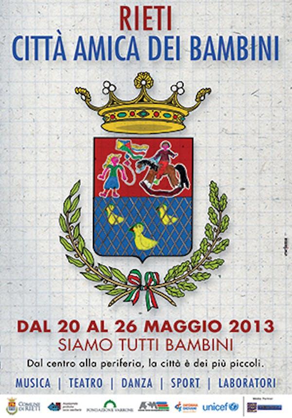Rieti, cittadinanza onoraria per 250 bambini delle ''seconde generazioni''