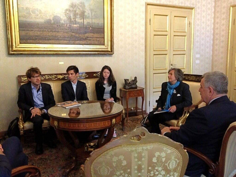 I ragazzi presentano il Rapporto UNICEF 2013 alla Provincia di Milano