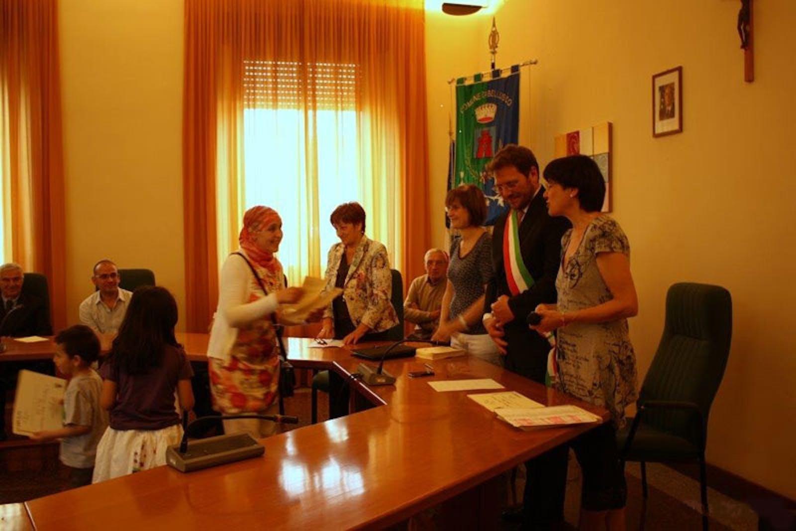 Cittadinanza onoraria a Bellusco (MB) per 43 bambini di origine straniera