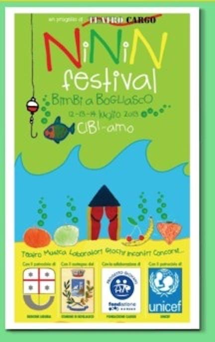 Bogliasco, l'UNICEF aderisce al NININ Festival