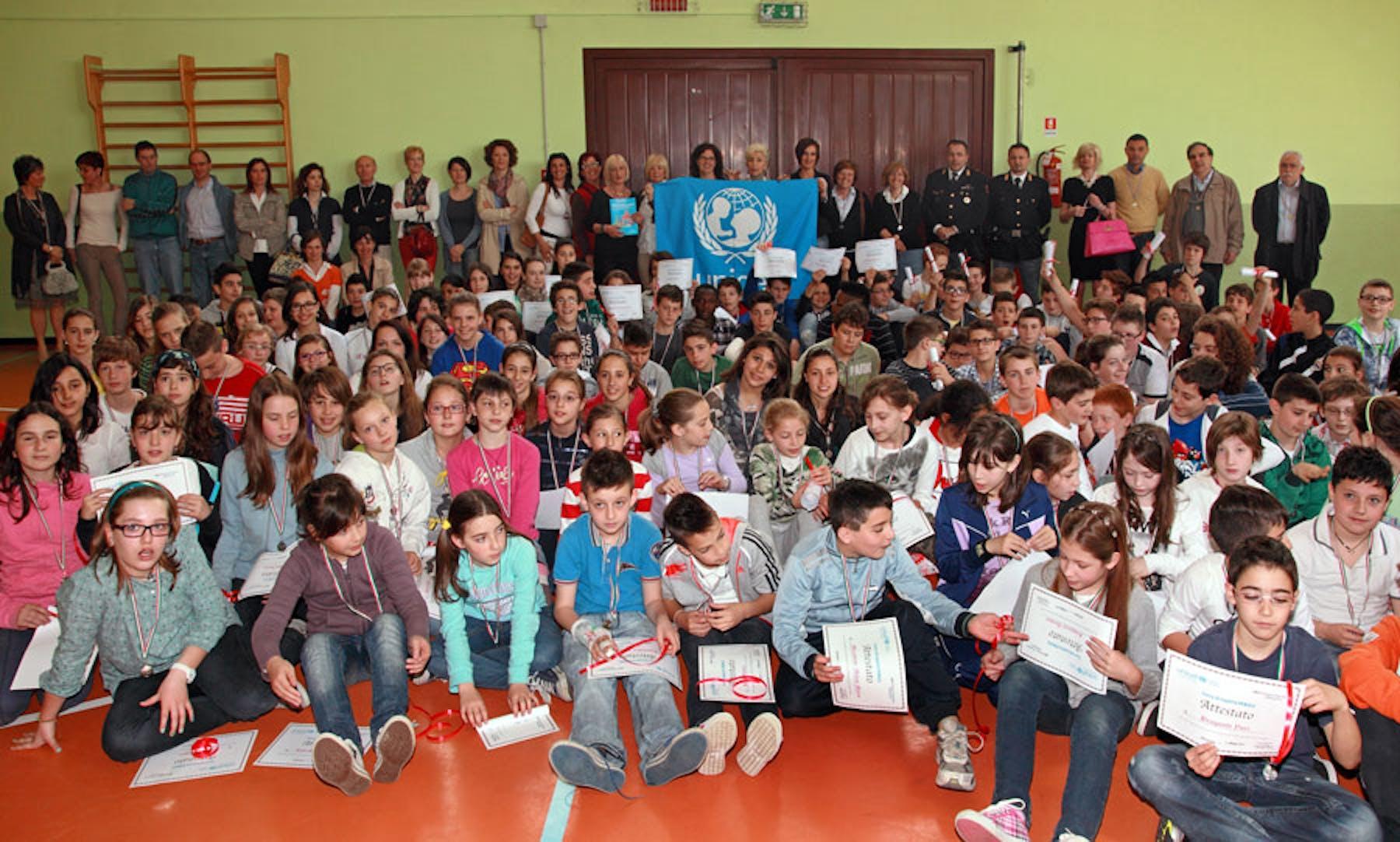 Bergamo, con l'UNICEF a scuola di legalità