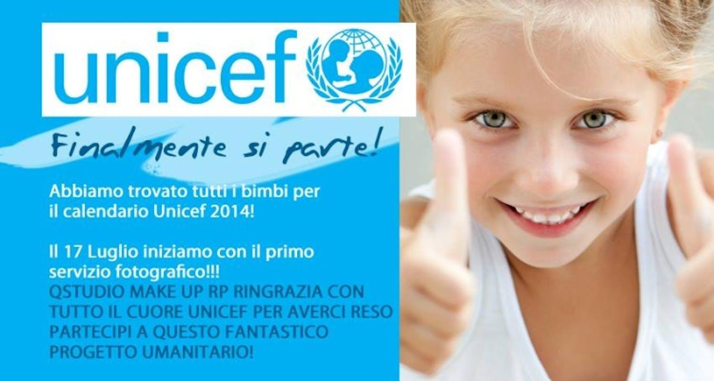 I bambini di Imperia protagonisti del calendario 2014 per l'UNICEF