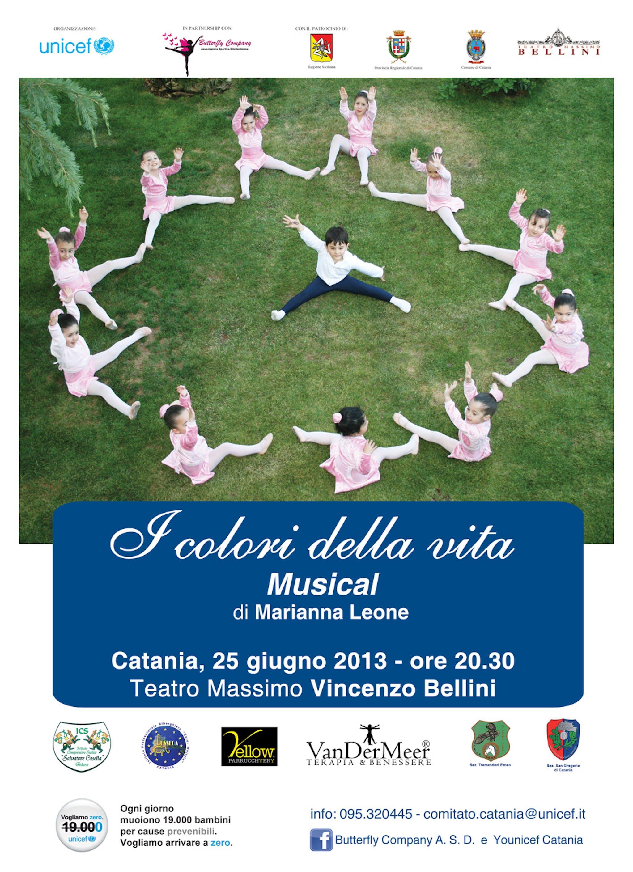 La Convenzione dell'infanzia in scena al Teatro Massimo di Catania