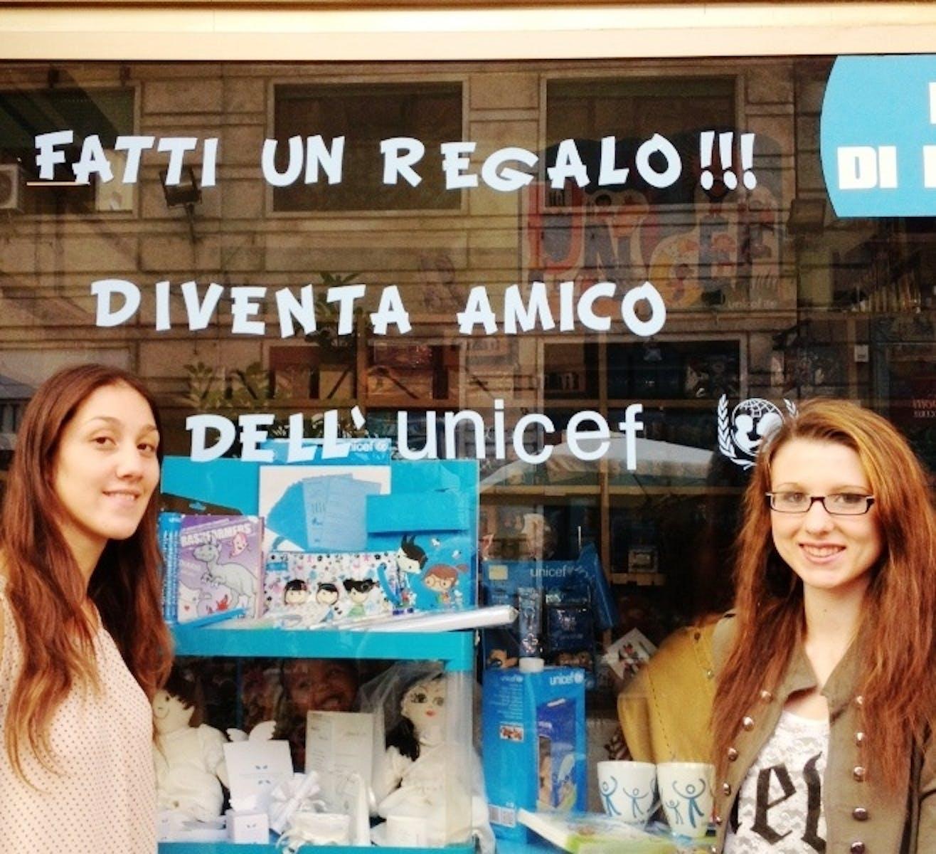 I volontari di Genova lanciano l'appello per gli Amici dell'UNICEF