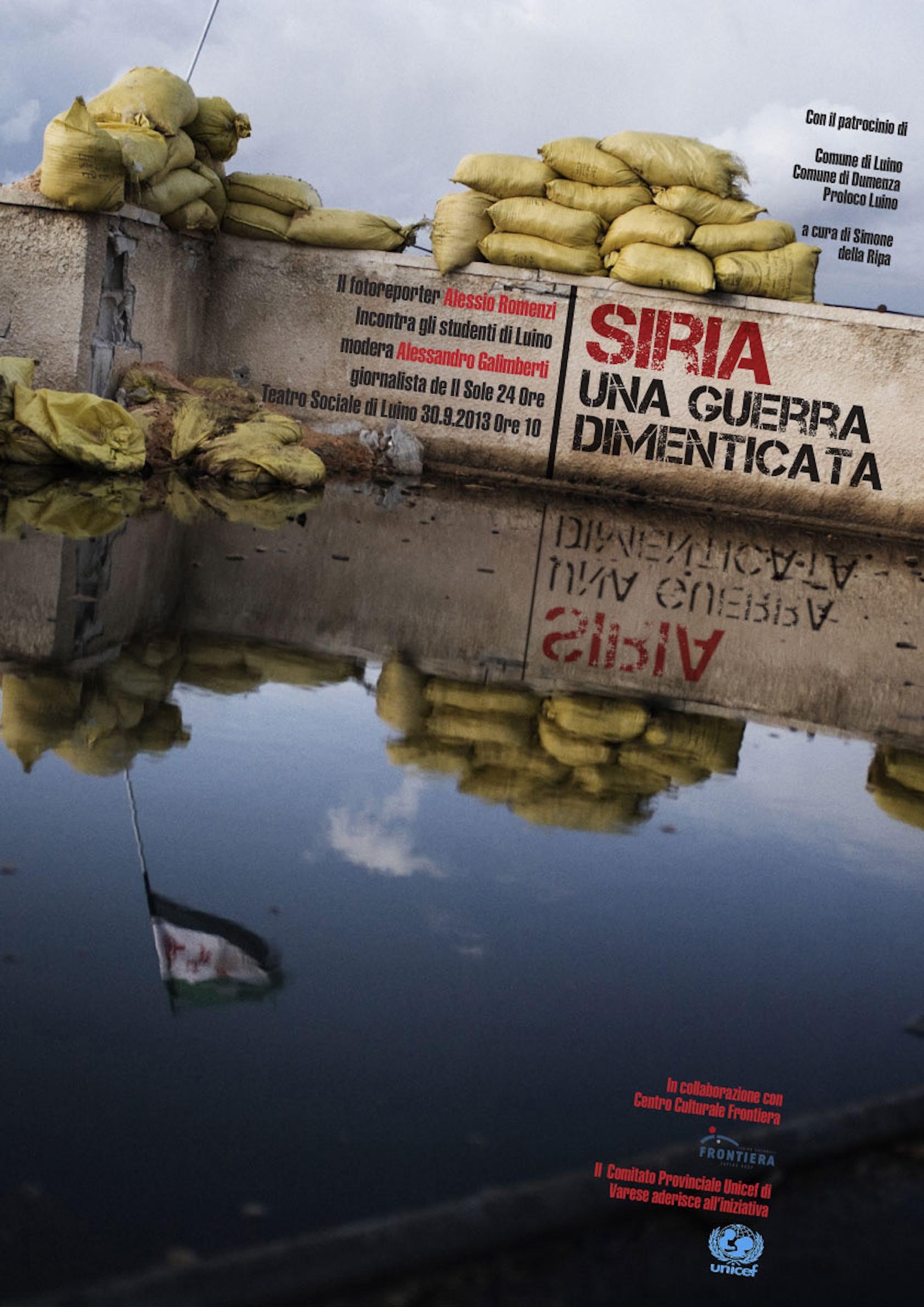 Varese racconta il conflitto siriano con gli occhi di Alessio Romenzi