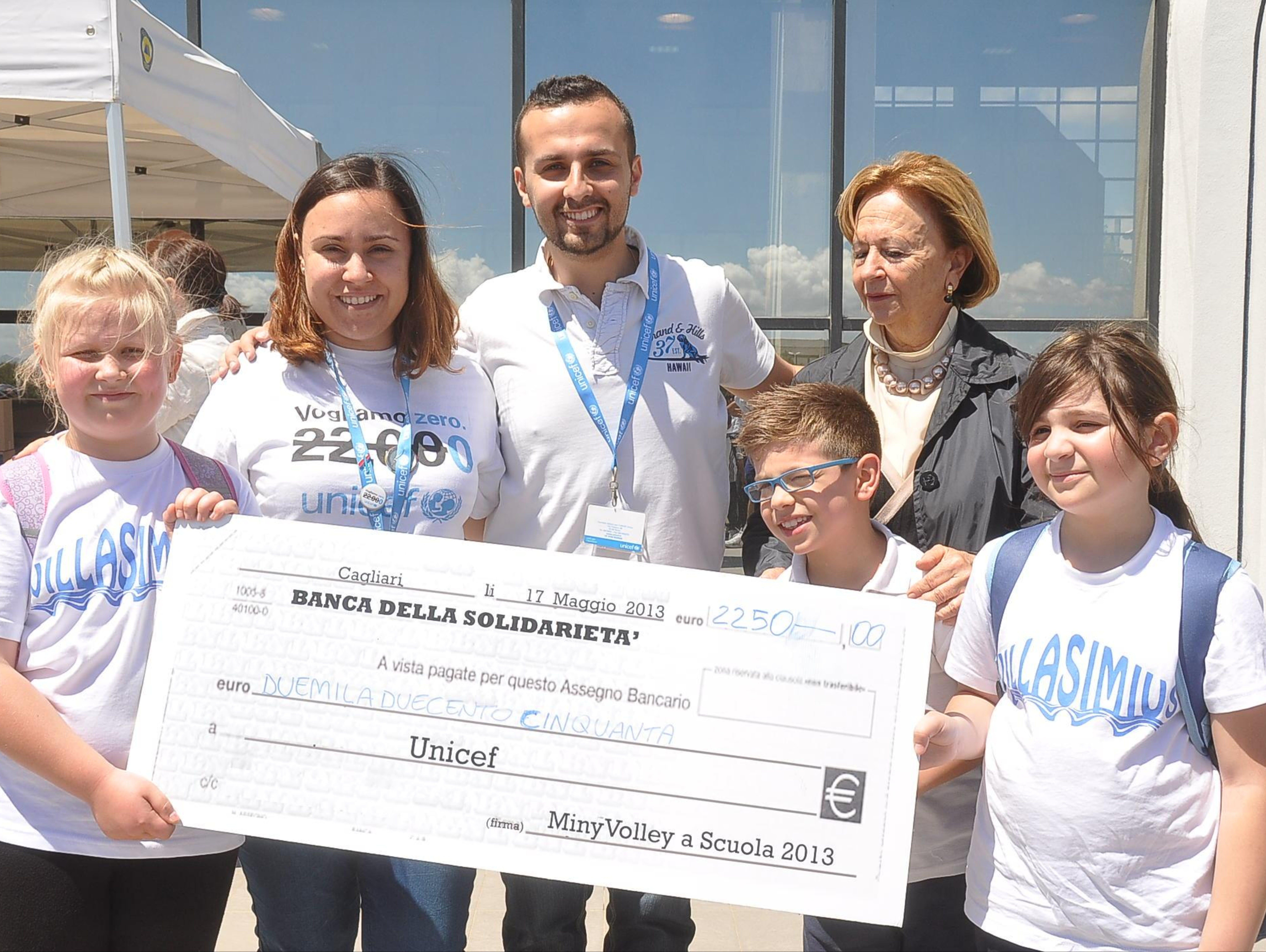 A Cagliari lo sport sostiene l'UNICEF