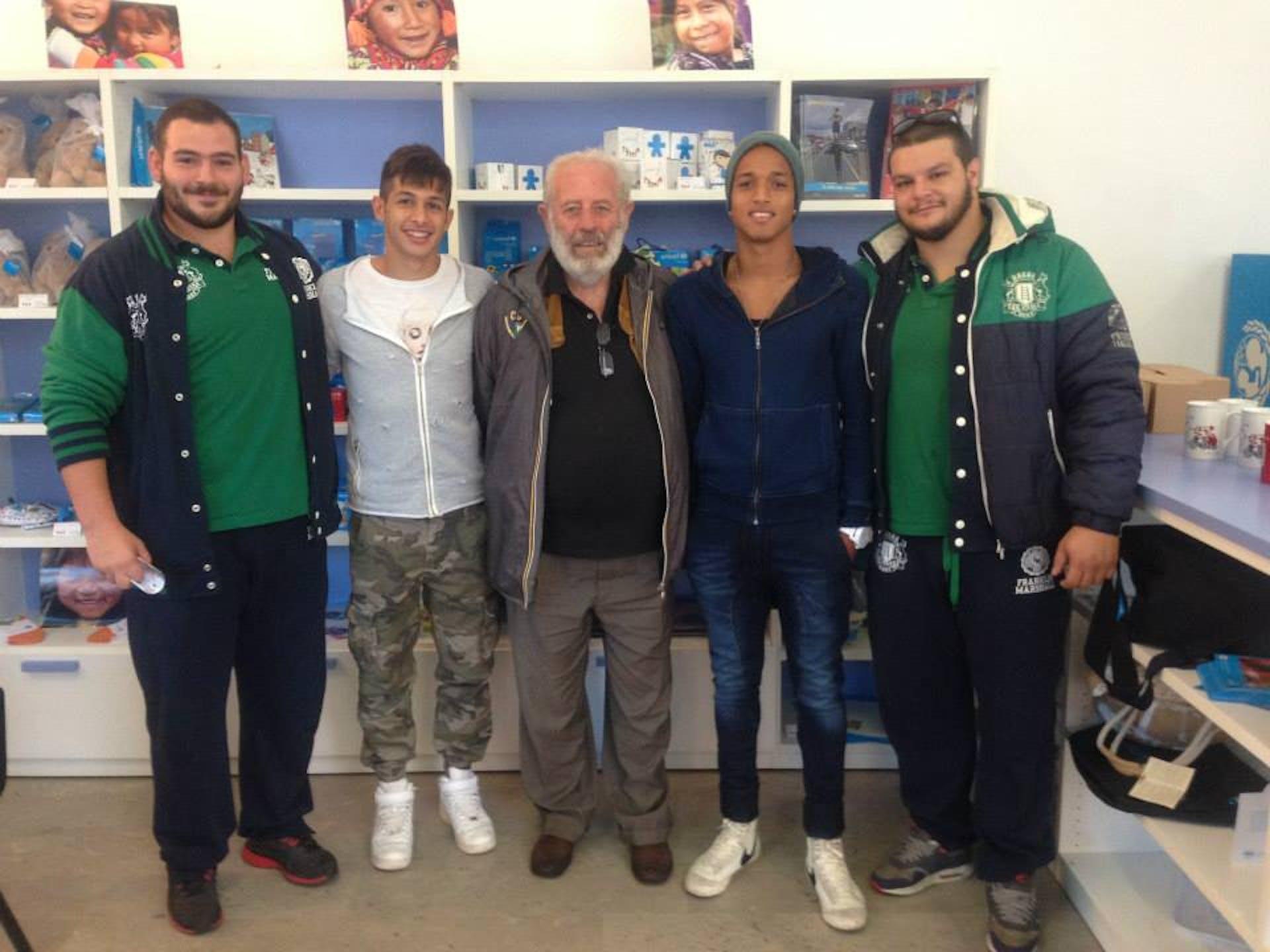 Lotteria #ChildrenofSyria. A Verona si inizia con il CUS Verona Rugby