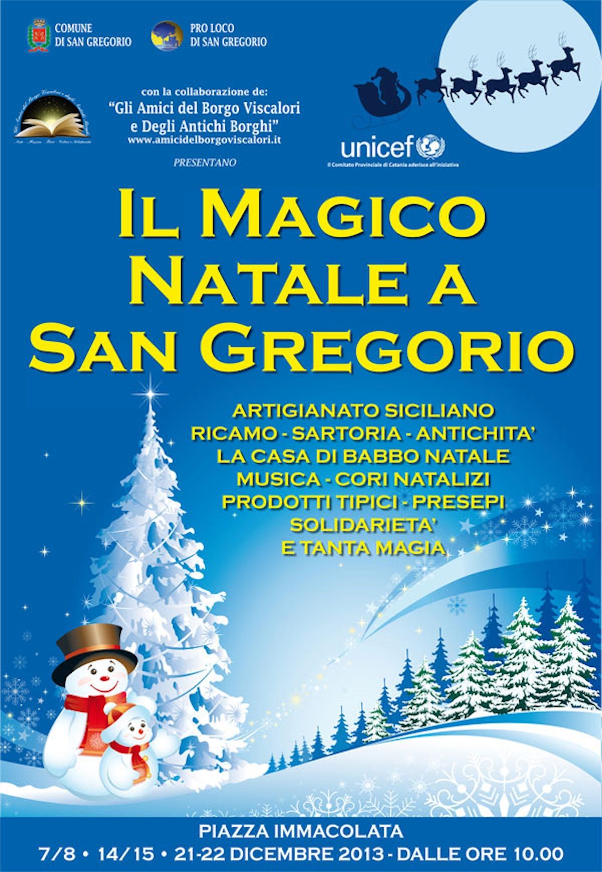 San Gregorio di Catania: un Natale firmato UNICEF
