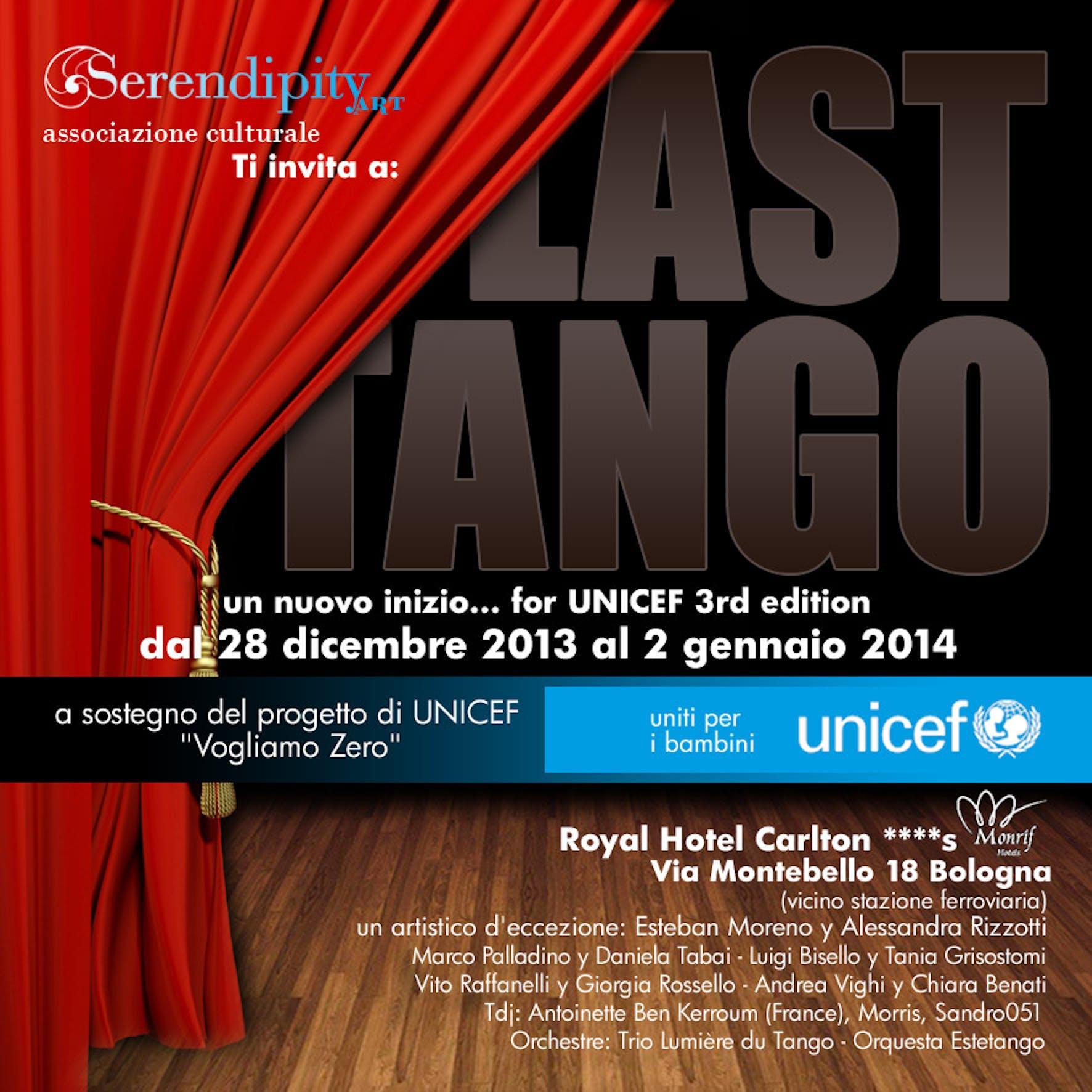 Bologna: al via Last Tango for UNICEF