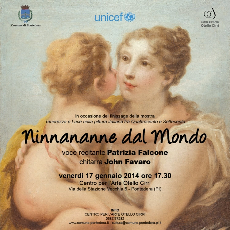 Cirri di Pontedera: un concerto di Ninna Nanne dal Mondo per sostenere UNICEF