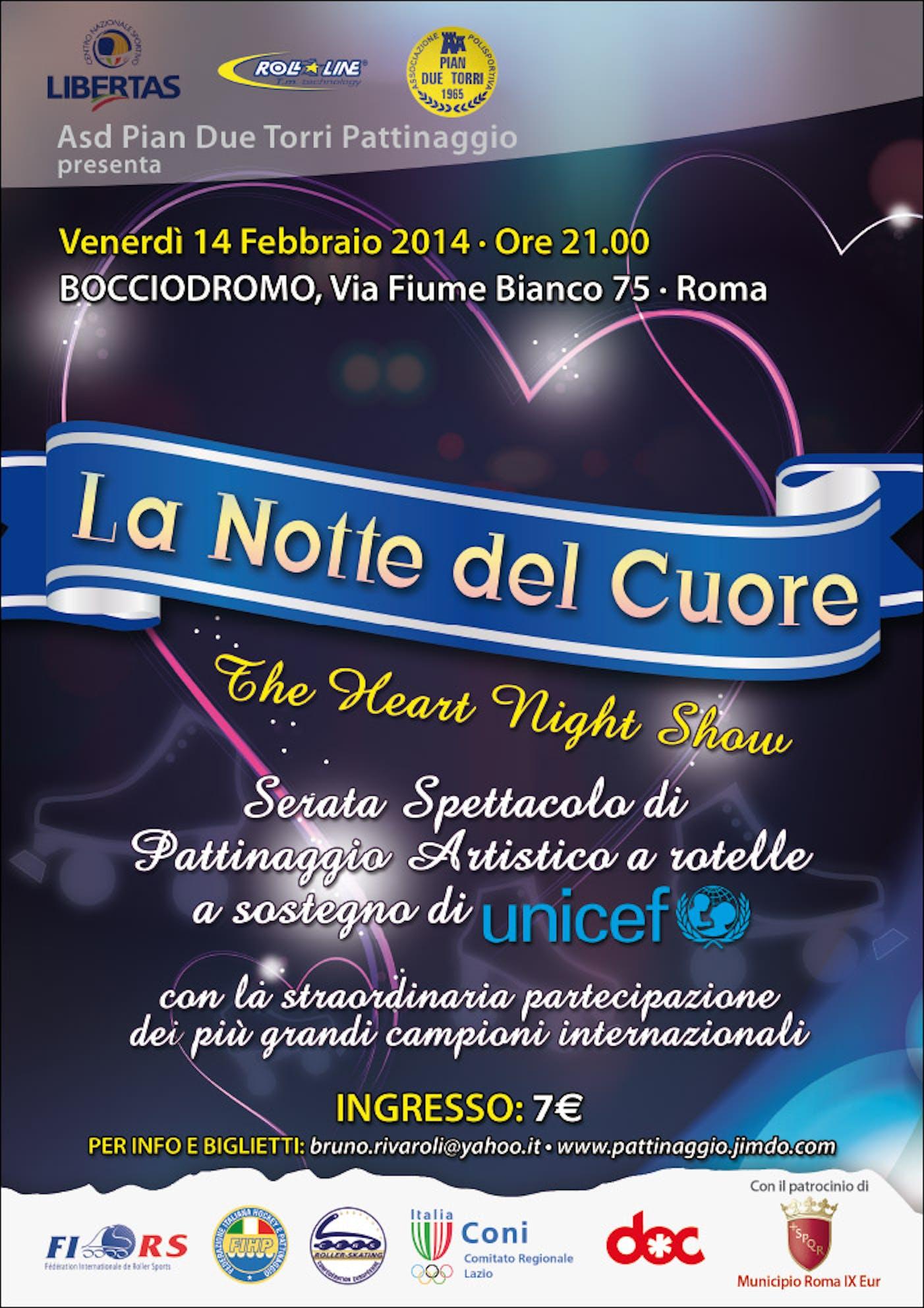 Roma: il pattinaggio artistico a sostegno di UNICEF