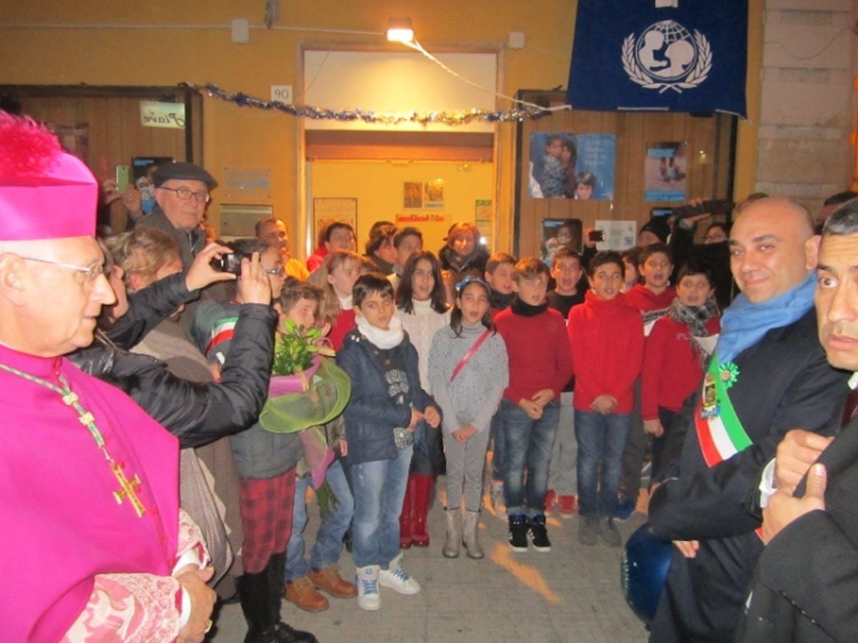 Siracusa: i ragazzi del Consiglio Comunale cantano per l'UNICEF