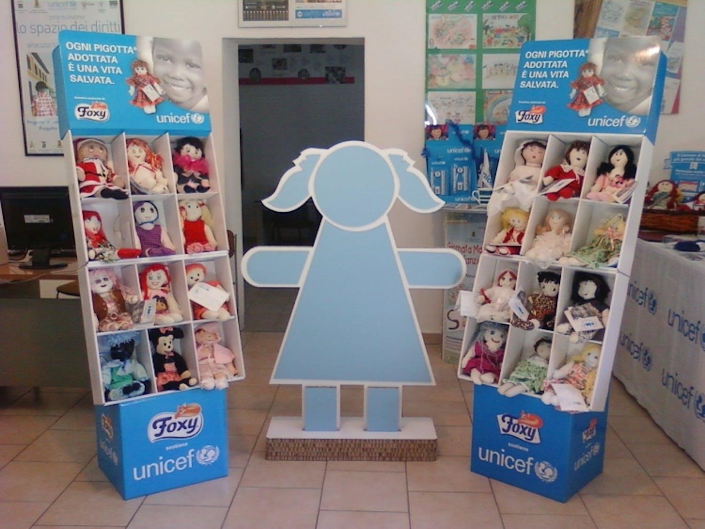 Siracusa: La maxi Pigotta dell'UNICEF si presenta al Carnevale