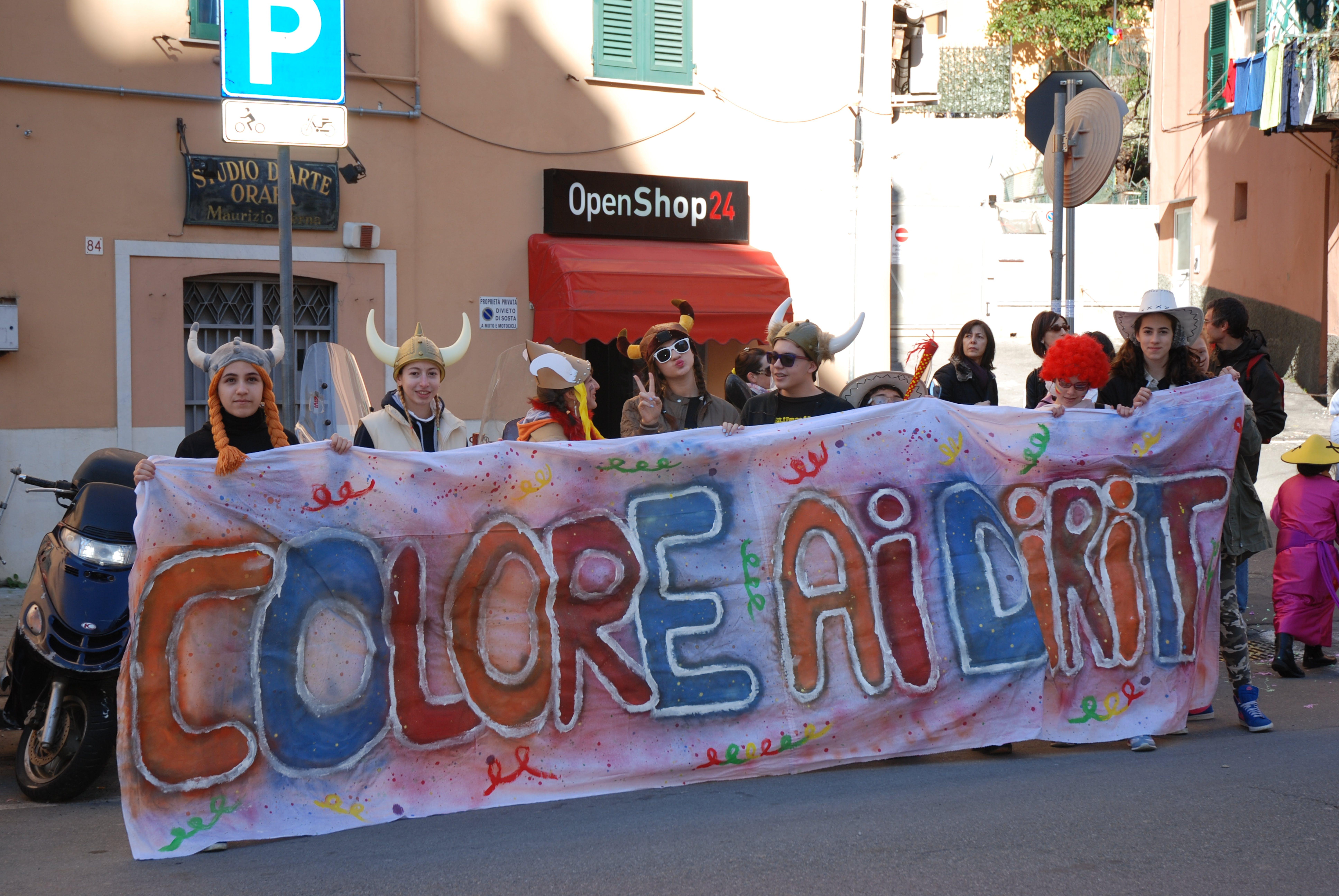 Anche il Carnevale di Quezzi festeggia il 25° della Convenzione ONU sui diritti dell'Infanzia