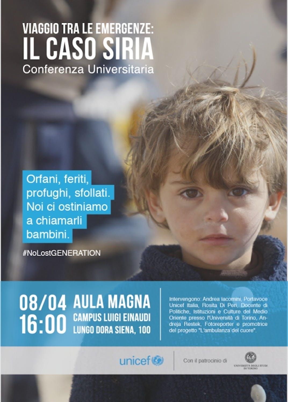 Torino: Viaggio tra le emergenze - il caso Siria