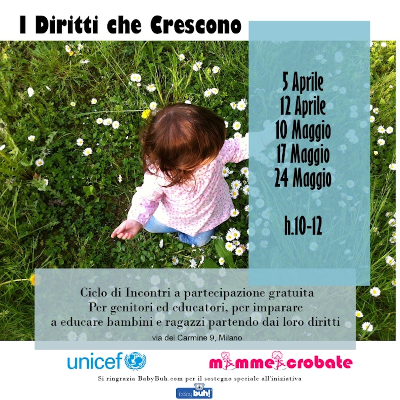 Milano: in partenza il ciclo di incontri dedicato ai diritti dell'Infanzia