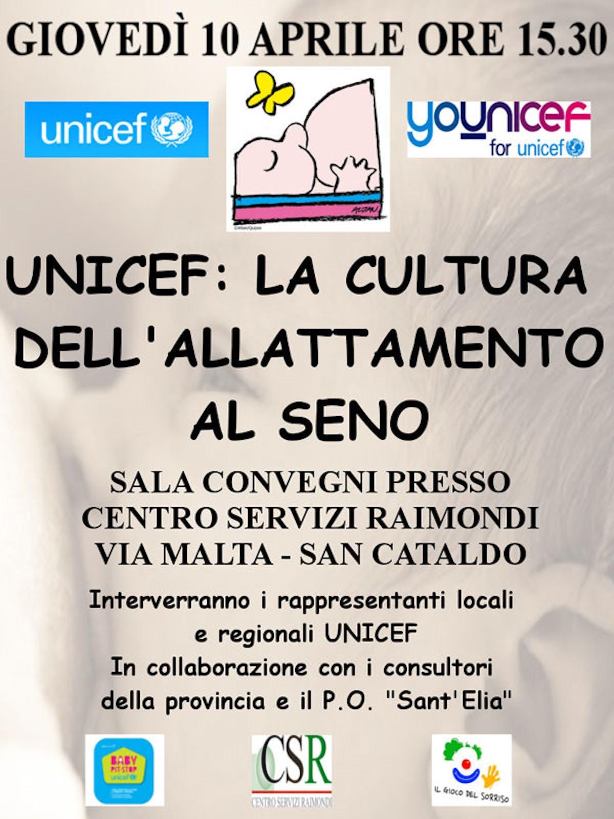 San Cataldo: informare e promuovere l'allattamento al seno
