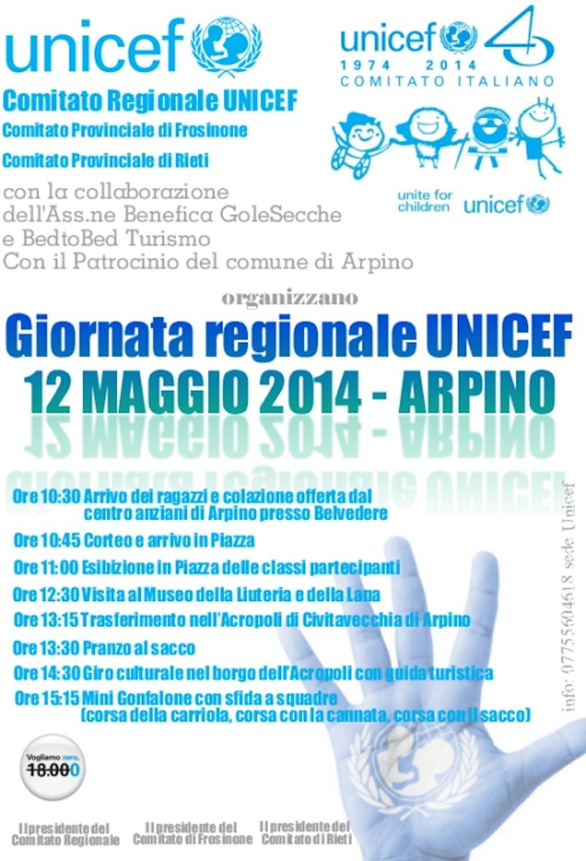 Arpino (FR): i volontari UNICEF si incontrano alla Giornata Regionale UNICEF