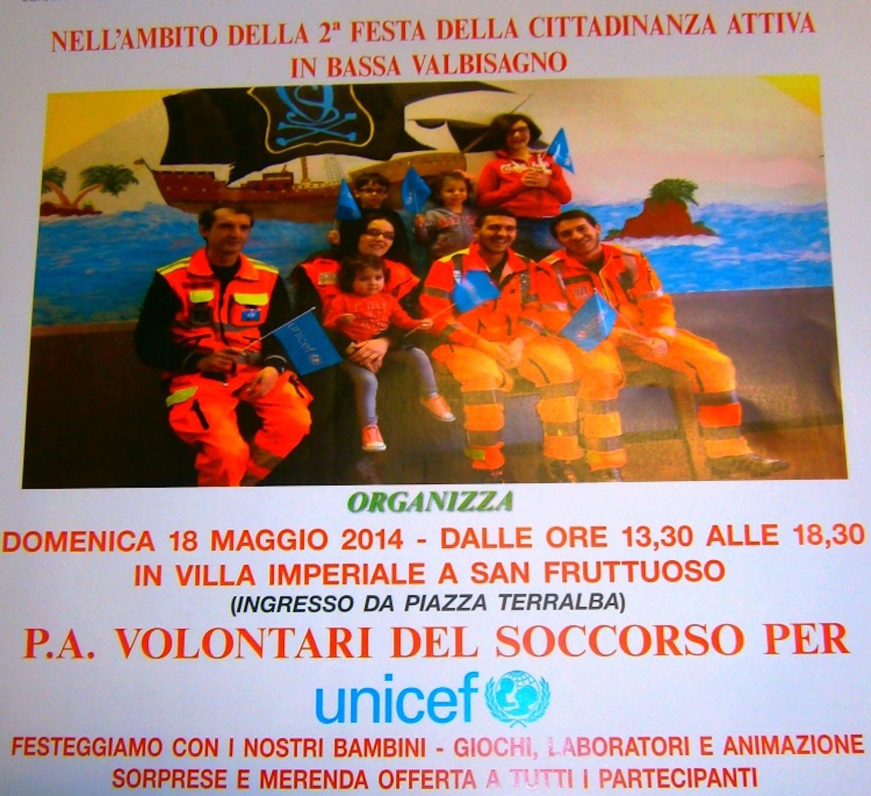 Genova: I volontari del Soccorso per l'UNICEF
