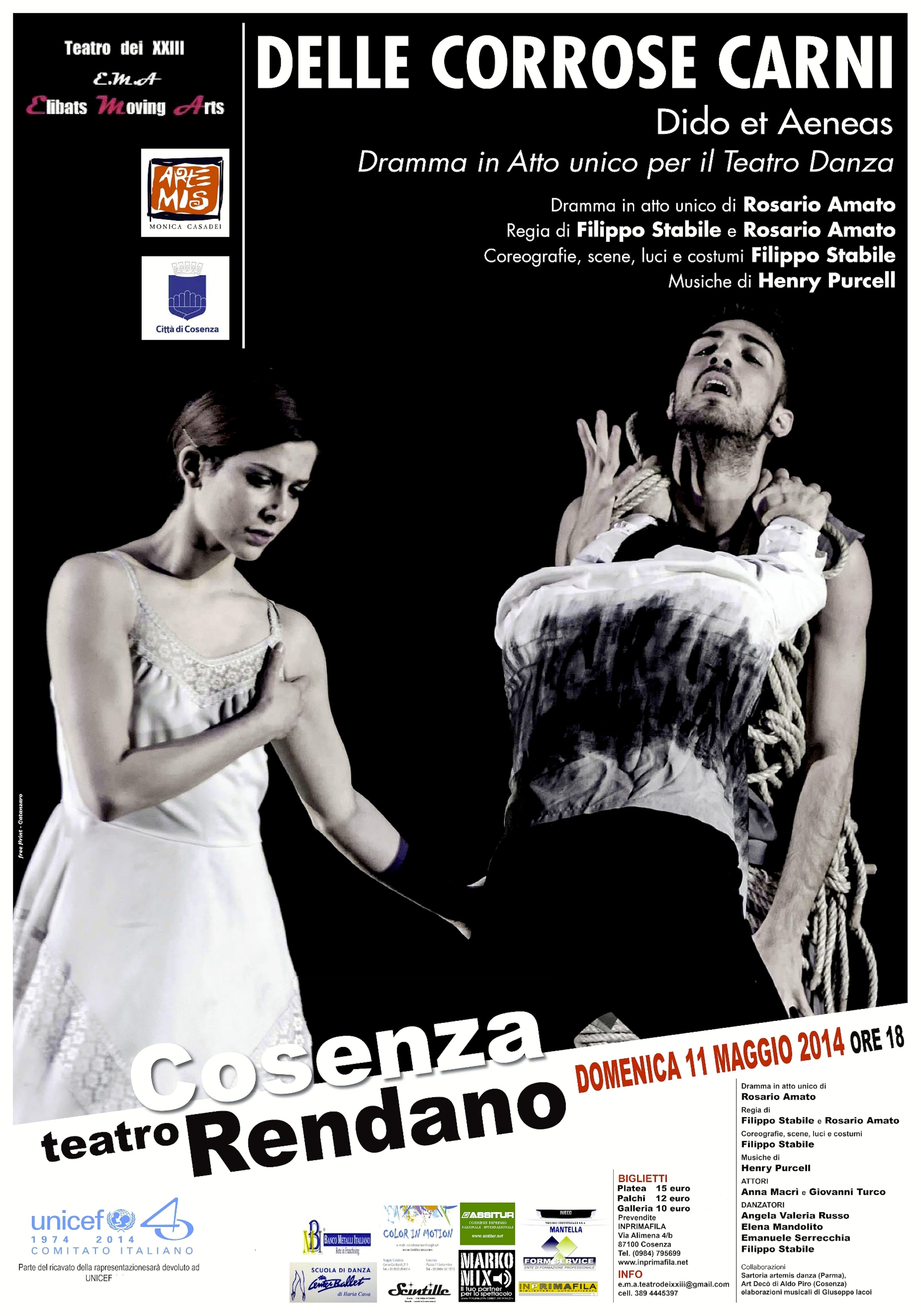 A Cosenza il Teatro Danza a favore di UNICEF