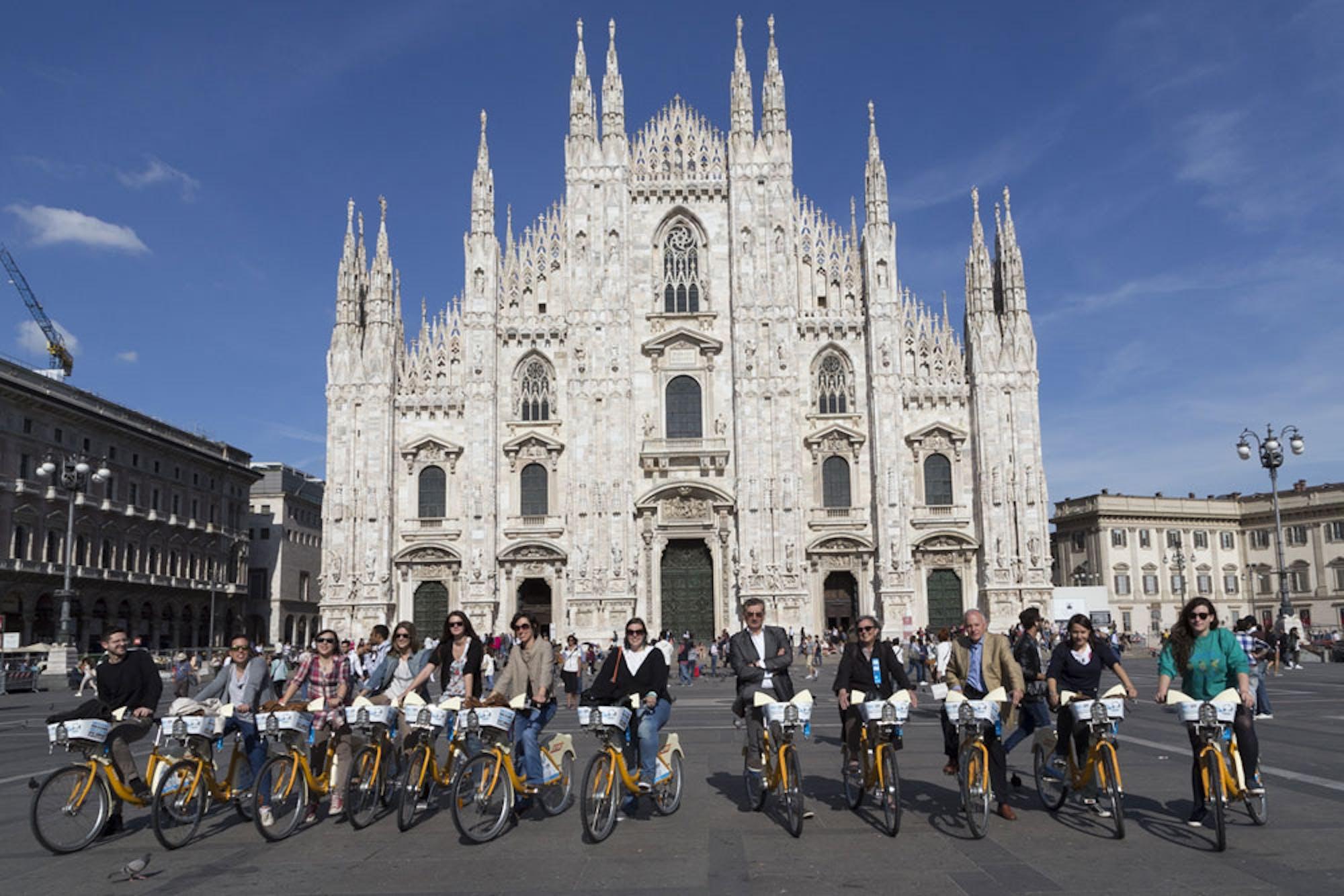Il bike sharing di Milano per