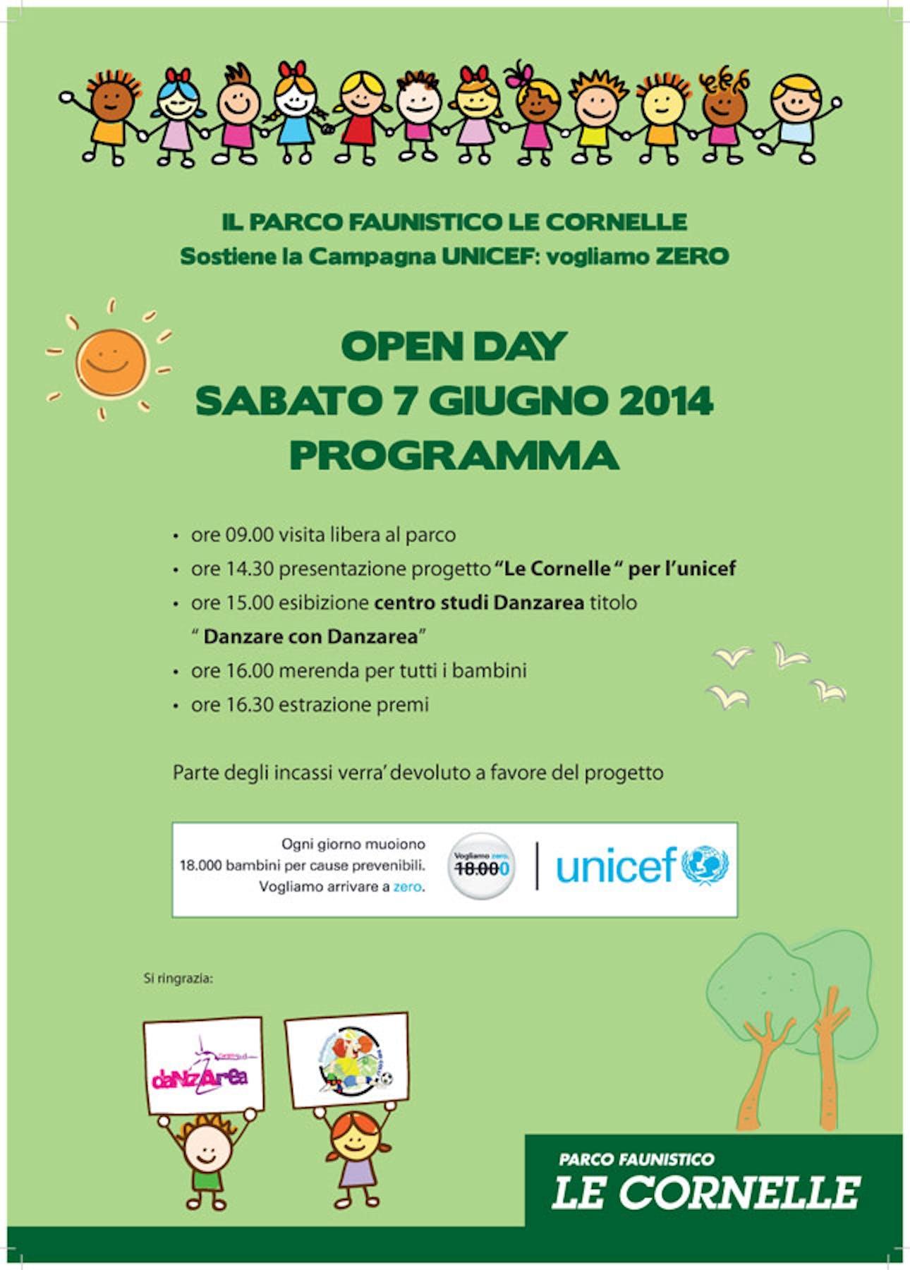Bergamo: tutti al parco Le Cornelle per sostenere UNICEF