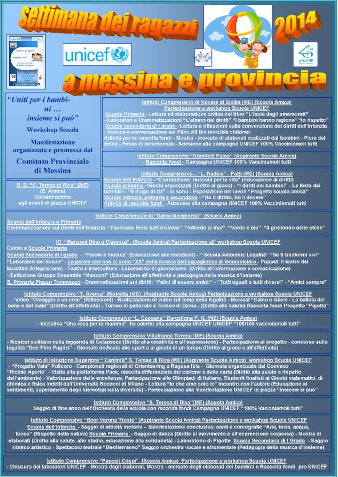 Verso il traguardo la Settimana dei Ragazzi a Messina