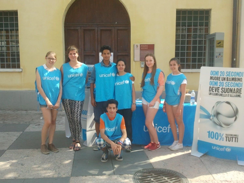 Due settimane di internship in UNICEF a Verona