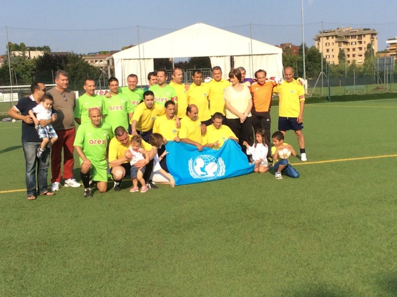 A Monza conclusa la seconda edizione del torneo di calcio per UNICEF