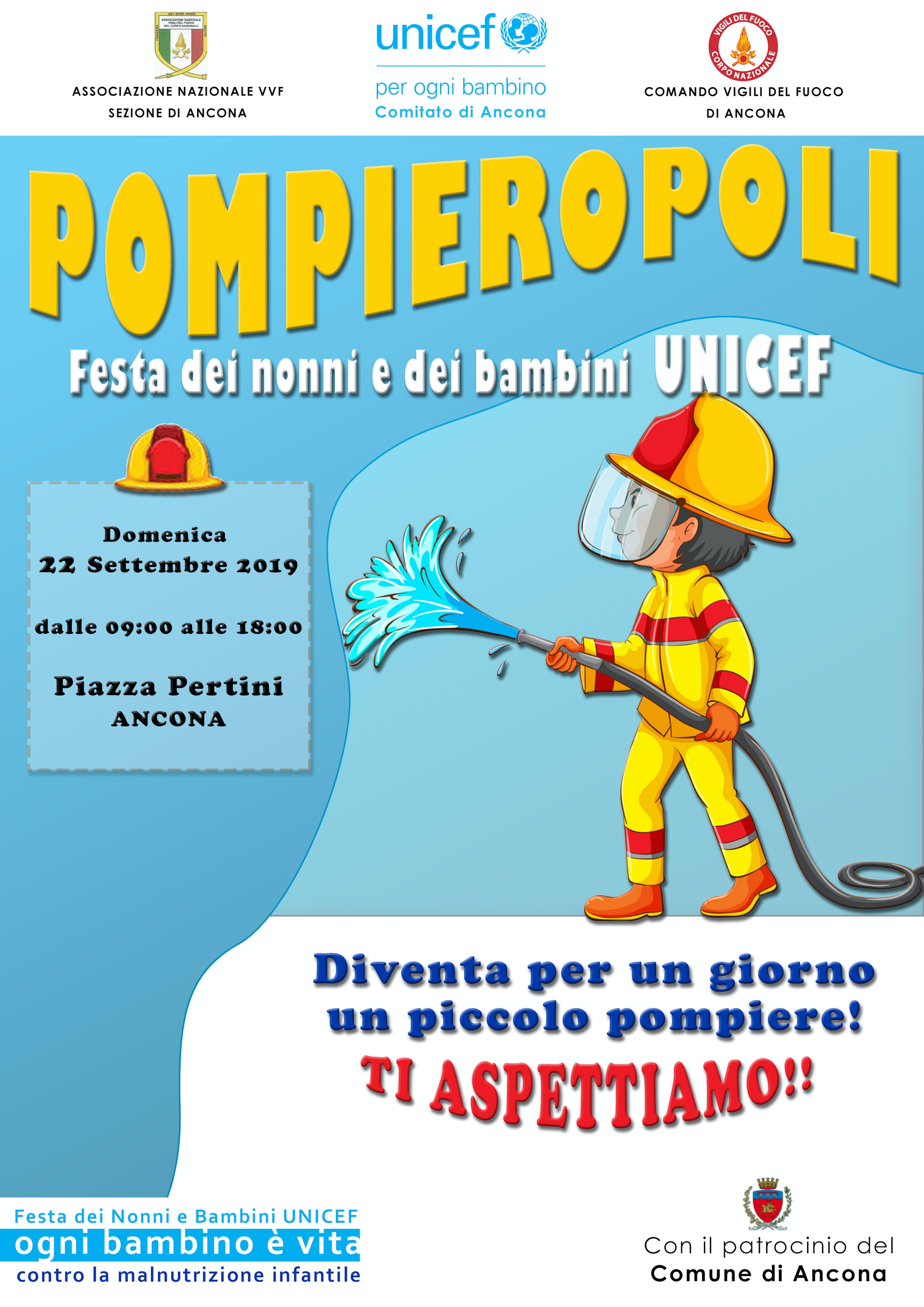 A Pescara ritorna Pompieropoli