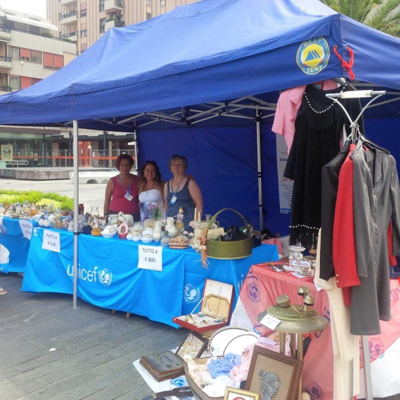 A Pescara il primo mercatino vintage per sostenere UNICEF