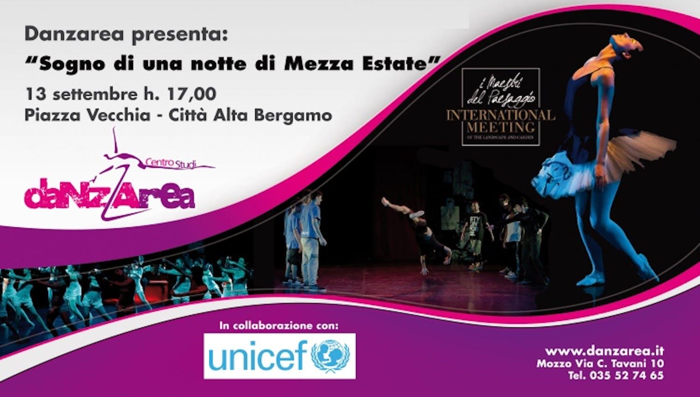 Bergamo: la Danza si esibisce per UNICEF